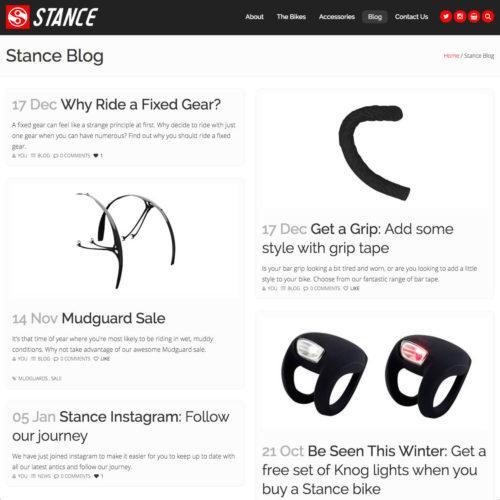 Stance Blog